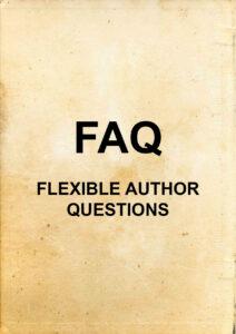 """""""FAQ - Flexible Author Questions"""" text"""